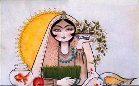 انجمن بانوان ایرانی شما را به جشن نوروز ١٣٩٦ دعوت میکند