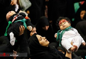 In Pictures: Thousands of mothers symbolically offer sacrificial infants to Imam Hossein