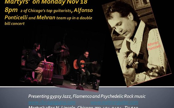 Mehran Jalili and Alfonso Ponticelli in double bill concert