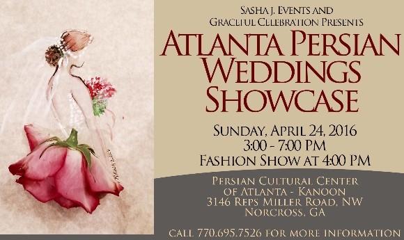 نمایشگاه خدمات مراسم عروسی ایرانی در آتلانتا