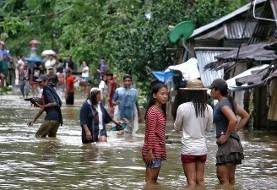 توفان در فیلیپین زندگی ۱۵۰ هزار نفر را مختل کرد