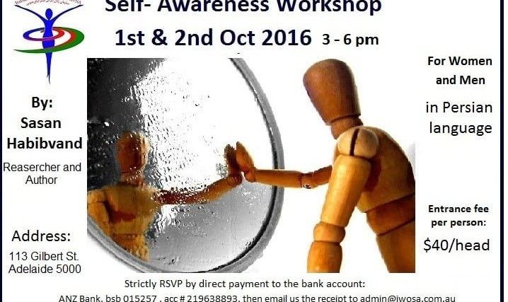 Sasan Habibvand: Self- Awareness Workshop