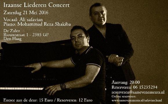 Ali Safavian: Iraanse Liederen Concert