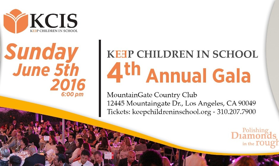 Keep Children in School KCIS 4th Annual Garden Party / Gala