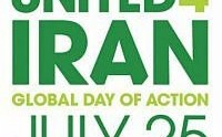 United for Iran: Rally in support of the Iranian people