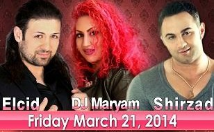 Nowruz Concert with Elcid, DJ Maryam & Shirzad