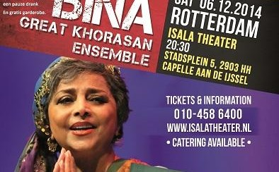 Sima Bina and Ensemble Concert: Khorasan Muziek