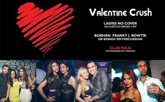 Valentine Crush with DJ Borhan