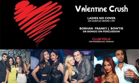 Valentine Crush with DJ Borhan