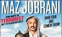 کمدی صحنه و معرفی کتاب مازیار جبرانی: من به خدا تروریست نیستم اما نقش بازی کرده ام!