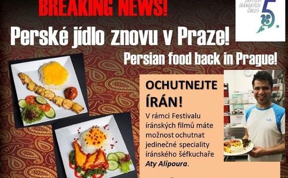 Iranian Film Festival and Persian Cuisine: Ochutnejte Írán