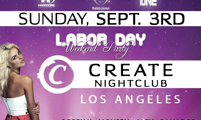 Labor Day Weekend Bash in Los Angeles