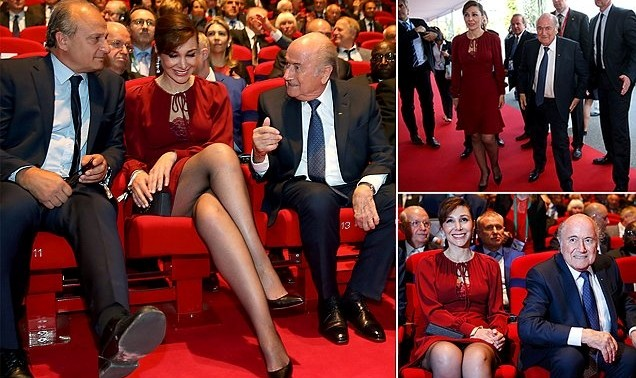 Sepp Blatter's Iranian-born girlfriend is married!