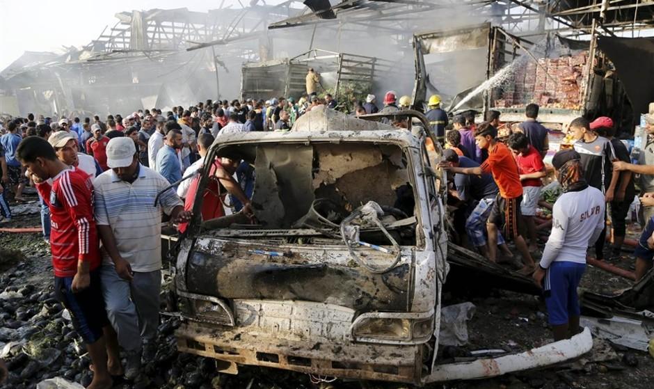 در آستانه نوروز، بمبگذاری تندروهای مذهبی در محله شیعهنشین بغداد ۷۰ کشته و زخمی برجای گذاشت