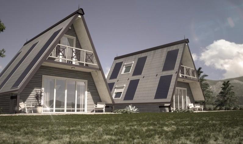 ایتالیا خانه تکه ای (ماژولی) ضدزلزله میسازد: عکس خانهای که در کمتر از یک روز ساخته میشود