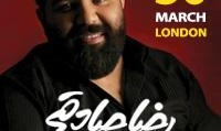 کنسرت بزرگ رضا صادقی با ارکستر اختصاصی از ایران (برای اولین بار در لندن)