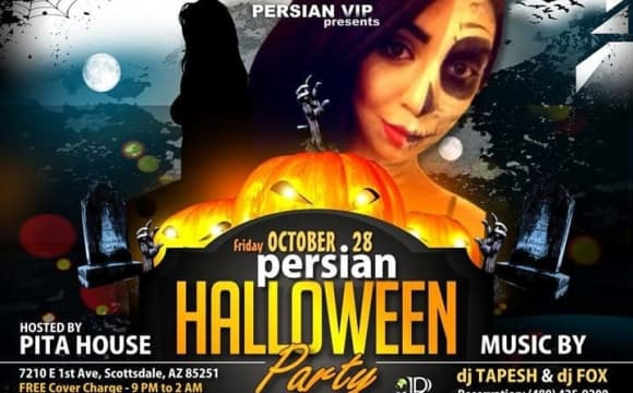 DJ Tapesh and DJ Fox: Persian Halloween Party