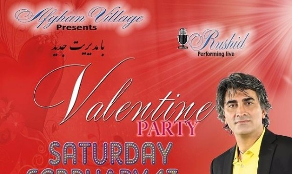 Rushid live at Valentine's Party with Dinner and Music