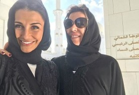 Wives of Real Madrid footballers wear Hijab in Emirates