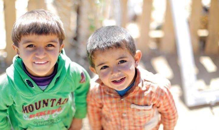 مراسم افطار خیریه برای کودکان فلسطینی