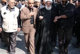 پیکر «حامد هاکان» با حضور پدرش آیتالله ذاکری از روحانیون با نفوذشهر ری به خاک سپرده شد