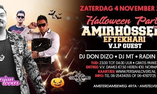 Amir Hossein Halloween Party