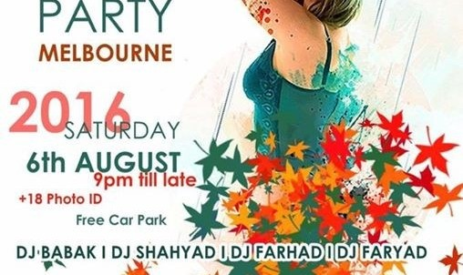 Annual Persian Party - Melbourne