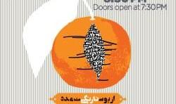 کنسرت محسن نامجو در ارواین: از پوست نارنگی مدد