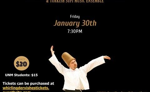 Whirling Dervishes of RUMI with Sufi Music Concert (Live Performance)