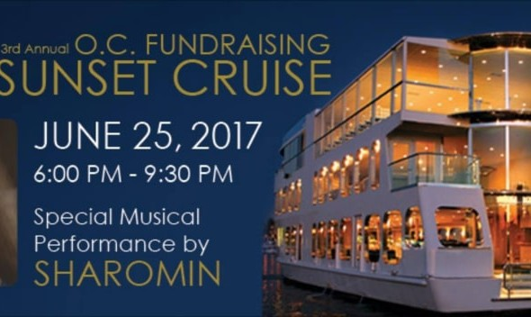 3rd Annual OC Fundraising Sunset Cruise with Sharomin