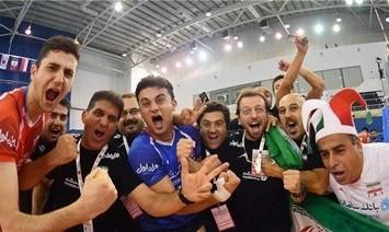 تیم والیبال زیر ۱۹ سال ایران با شکست روسیه  قهرمان جهان شد