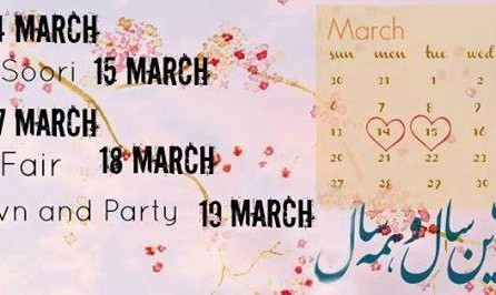 The Week To Nowruz 1395