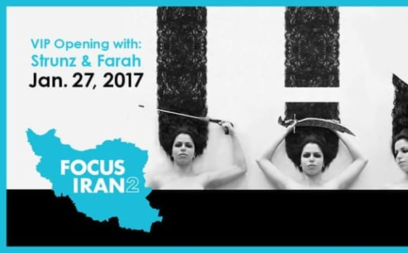 Focus Iran 2: Opening Reception and Preview with Strunz and Farah