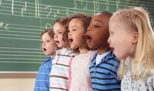 Children's Music Class by Sara Talebian