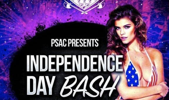 Independence Day Bash at Liaison Nightclub