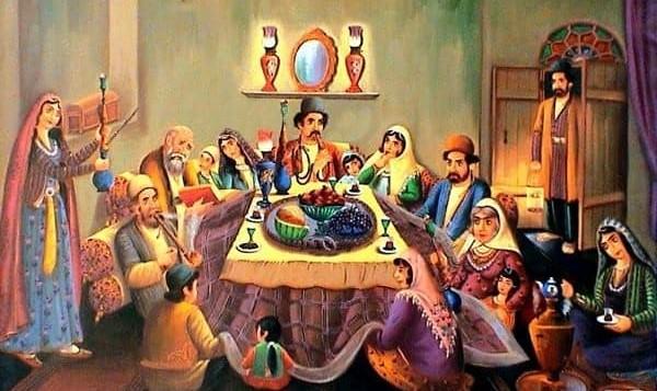 شب یلدا: غذای خود را آورده و در جشن ما شریک شوید