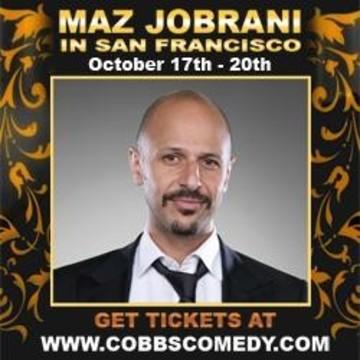 Maz Jobrani at Cobb's Comedy Club in San Francisco