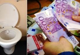 ریختن ۱۰۰ هزار یورو اسکناس در توالتهای شهر ژنو توسط دو زن اسپانیایی! پلیس سوئیس: عجیب است اما جرم نیست