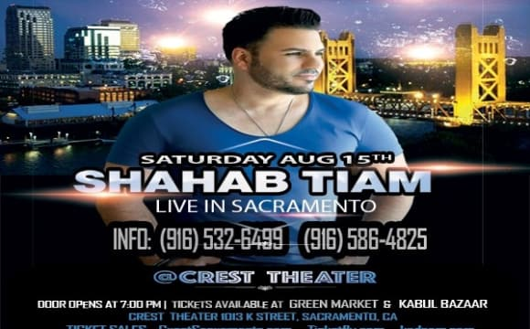 Shahab Tiam Live at the Crest Theater