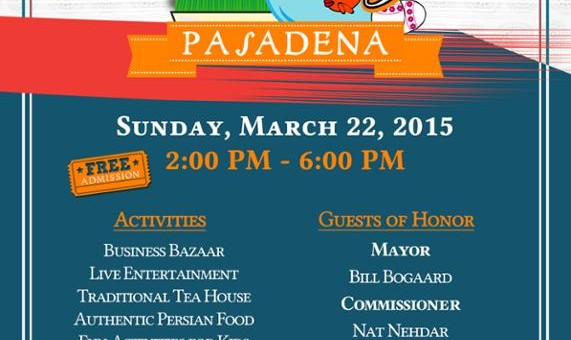 9th Annual Celebration Norooz Pasadena 2015