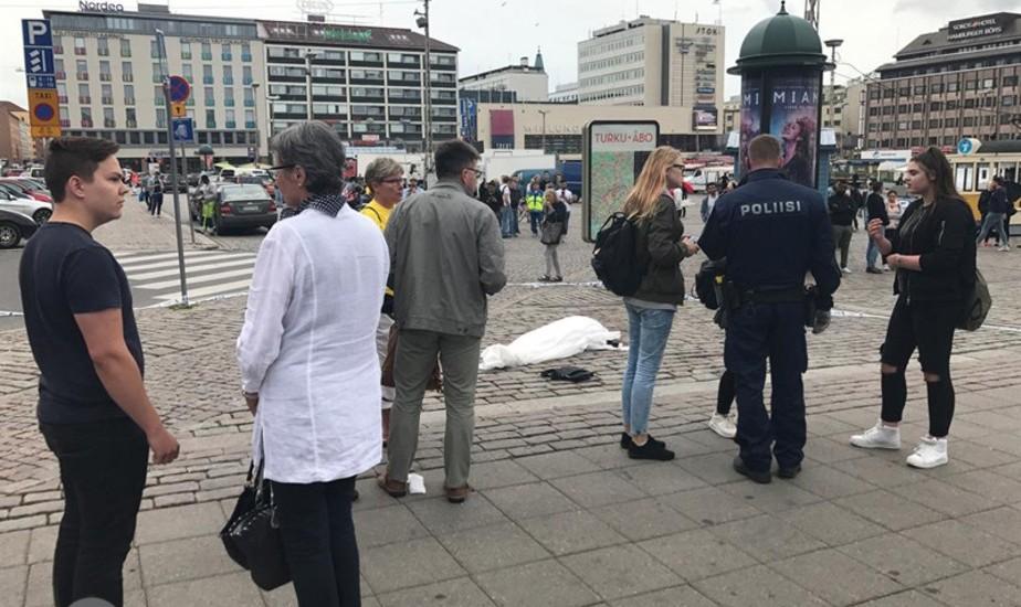 یک مراکشی با چاقو به زنان شهر تورکو فنلاند حمله کرد: ۲ کشته و ۸ مجروح
