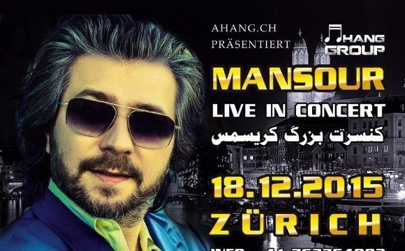 Mansour Live On Stage Zurich