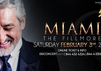 """Ebi, Live in Miami, """"50"""" World Tour"""