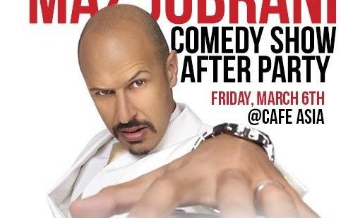Official Maz Jobrani Comedy Show After Party