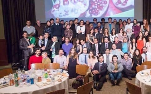 New Iranian Students Meet and Greet