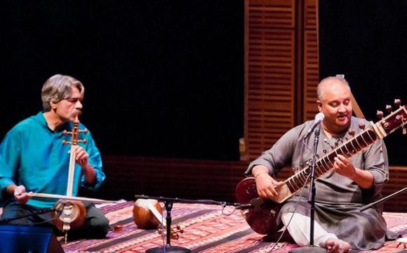 کیهان کلهر و شجاعت حسین خان در نیویورک