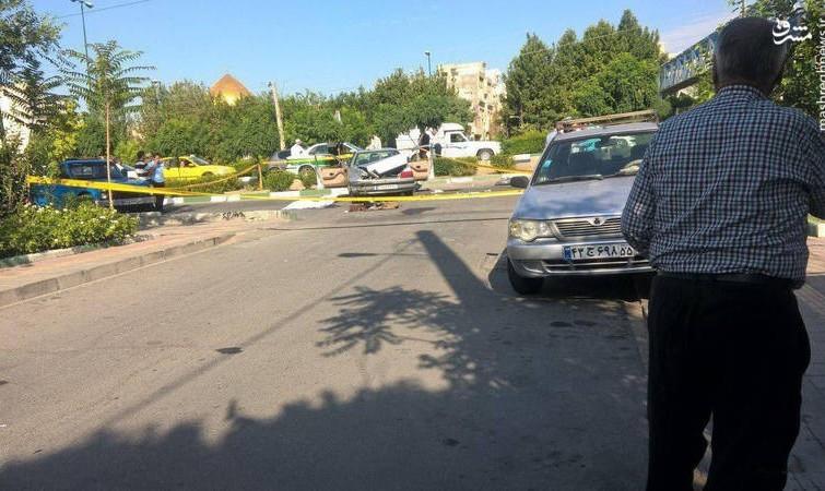 تیراندازی در میدان المپیک تهران: یک زن کشته و یک نفر دیگر مجروح شد