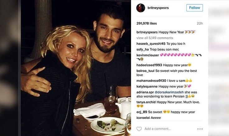 Did Britney Spears' Iranian lover Cheat on Her?