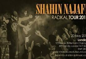 Shahin Najafi Live in London: Radikal Tour ۲۰۱۷