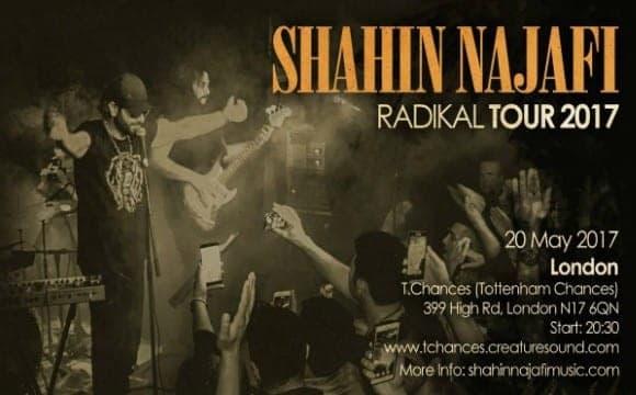 Shahin Najafi Live in London: Radikal Tour 2017